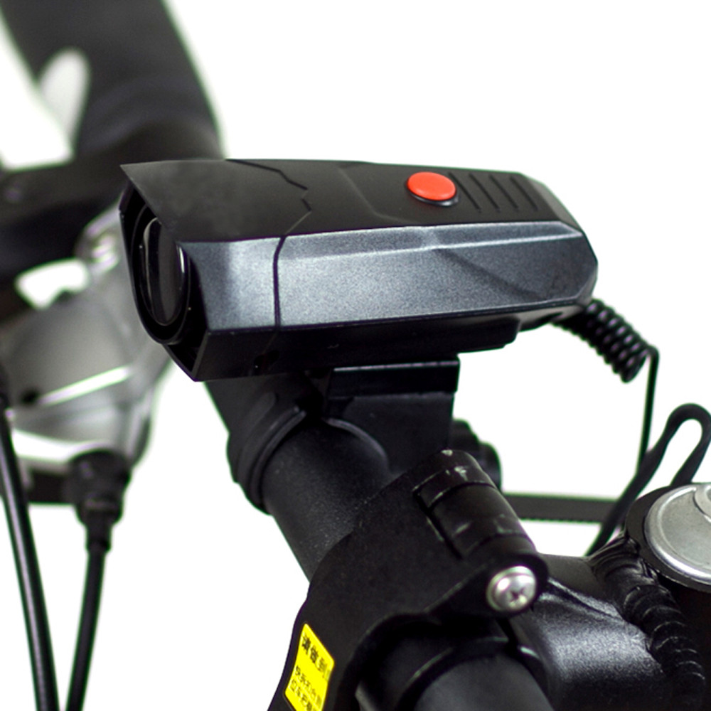 Bicycle Accessories 6 Sounds Electronic Cycling Horns Bike Bicycle Alarm Handlebar Ring Bell Horn Black Good lights