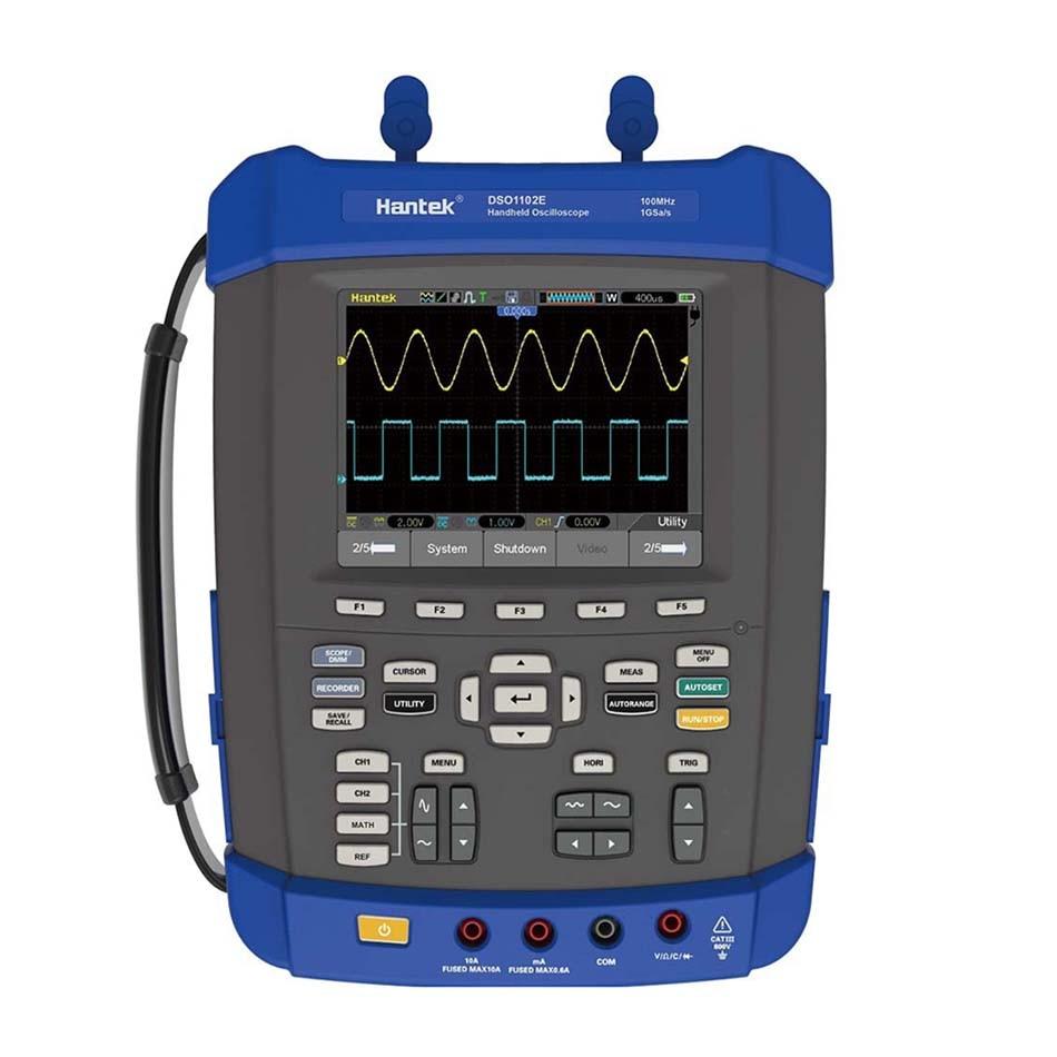 купить O091 DSO1102E Bandwidth 100MHz Oscilloscope, 1GS/s sample rate & 6000 Count Digital Multimeter DMM analog bargraph EXPRESS POST по цене 35358.02 рублей