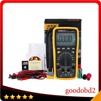 цена на Digital Multimeter Meter VC86D Victor Multimeter VC30274,meter with RS232 USB and English Manual