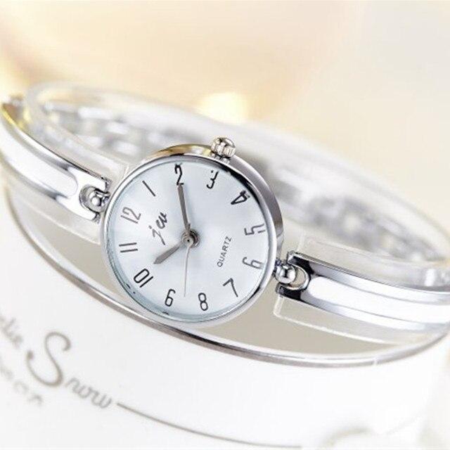 2018 New JW Luxury Brand Quartz Women Watches Diamond Bracelet Ladies Dress Gold Wristwatch Hours Female clock relogio feminino