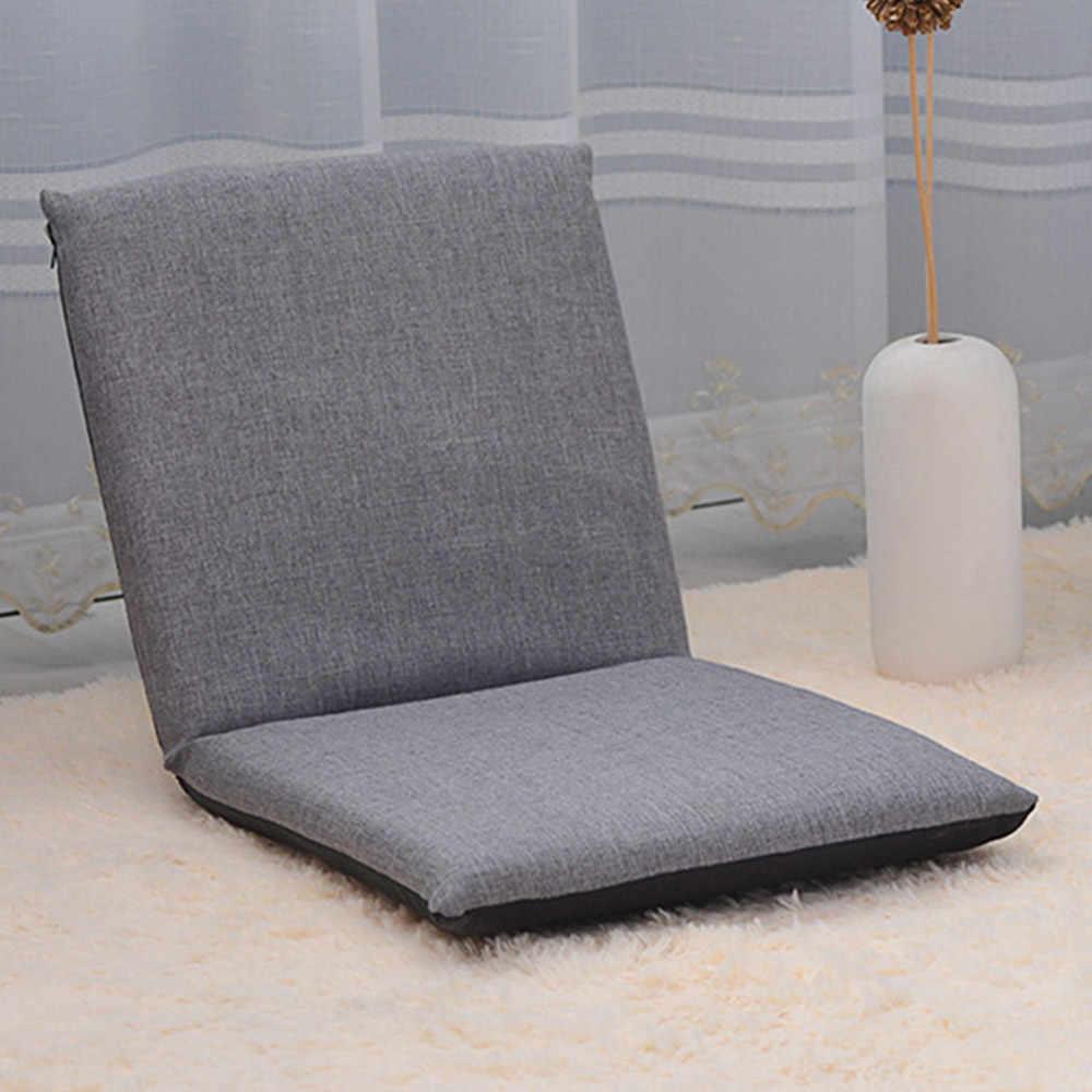 Cadeira dobrável Piso Algodão Ajustável Almofada Assento Do Sofá Espreguiçadeira Relaxante Preguiçoso Confortável Chaise Lounge Cadeira Moderna Decoração Da Casa