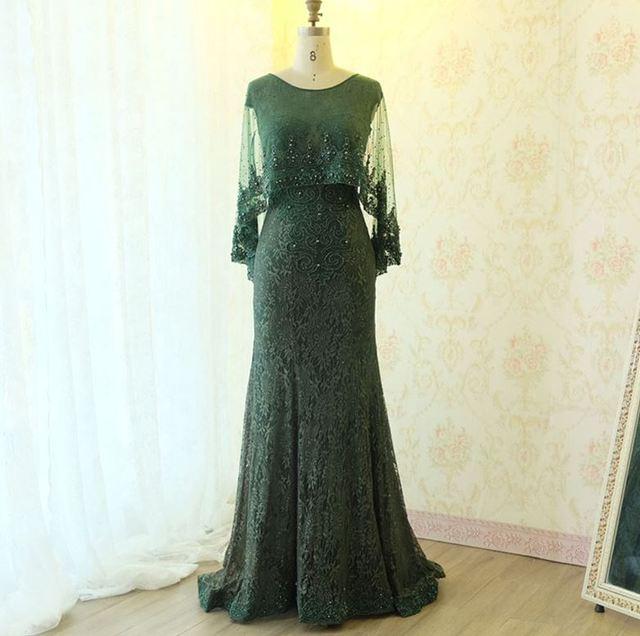 Vestiti Eleganti Donne.Vestiti Eleganti Donna Cerimonia Sera New Lace Long Sleeve Shawl