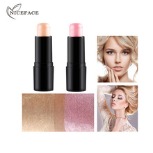 Maquillage Brand bronzers highlighters Gold Pink Shimmer Brightener Face Highlighter Makeup Palette countour makeup Stick