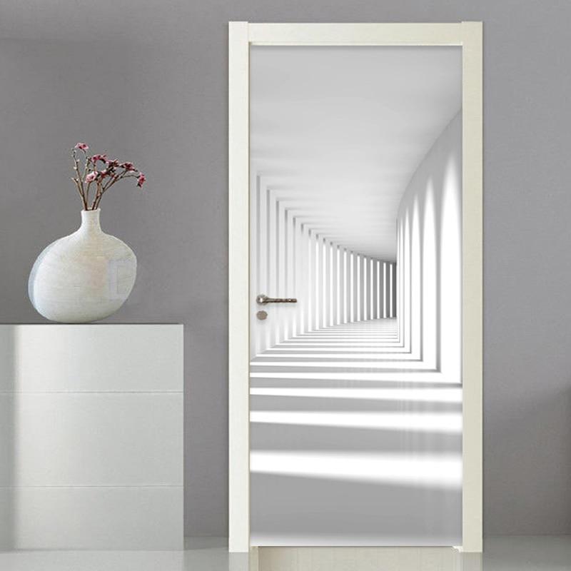 Custom Photo Wallpaper Modern Simple 3D Stereo Abstract Art Space Murals Wall Papers Living Room Bedroom Door Sticker PVC Decor