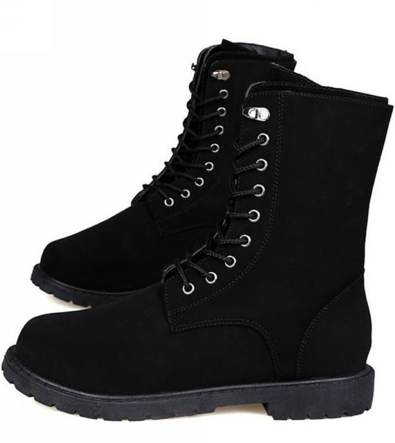 Aliexpress.com : Buy New Fashion Winter Retro Combat Boots Boots ...