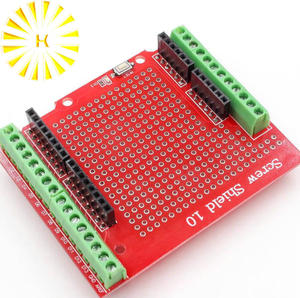 New Standard Proto Screw Shield Assembled Prototype Terminal Expansion Board for Arduino Opening Source Reset Button D13 LED