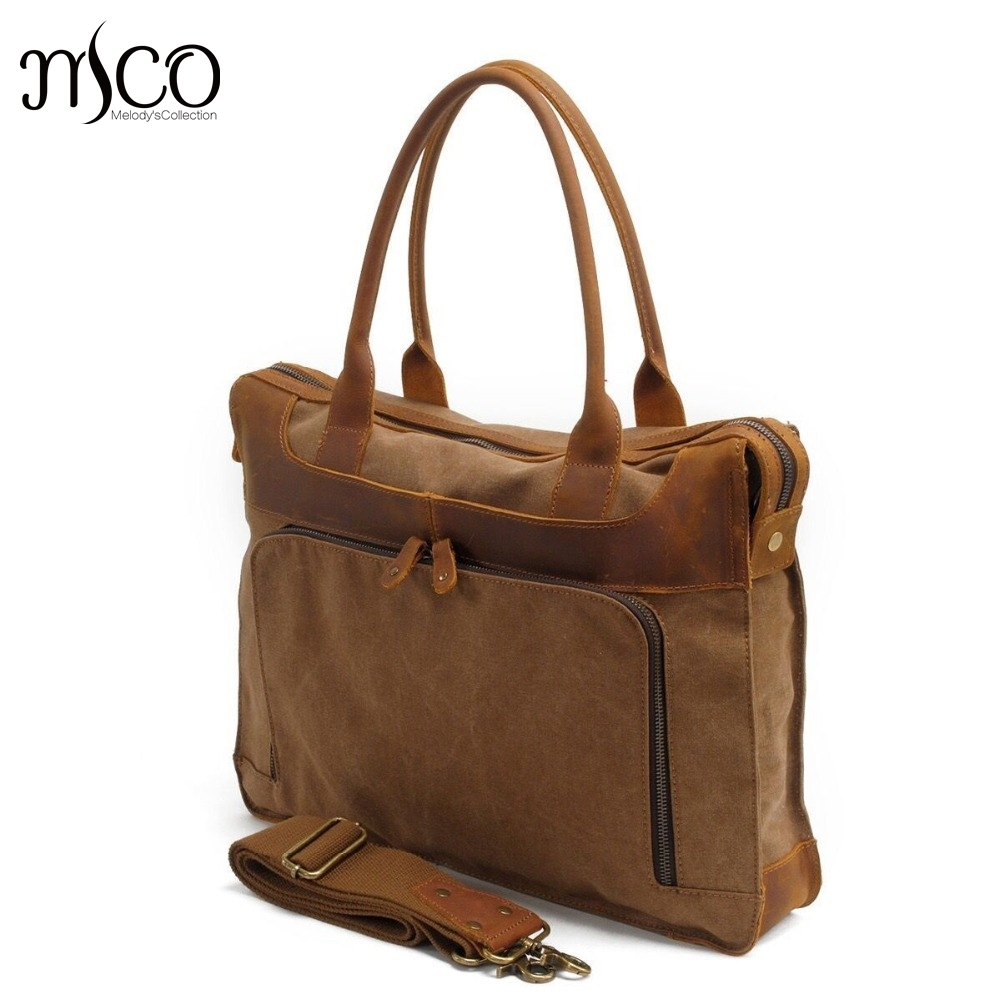 все цены на British style Business Briefcase Men Canvas