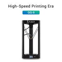 2019 FLSUN QQ-S Delta Kossel 3D Yazıcı Yüksek hızlı Büyük baskı boyutu 3d-printer Otomatik tesviye Dokunmatik Ekran Wifi