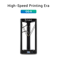 2019 FLSUN QQ S Delta Kossel 3D Printer High speed Large printing size 3d printer Auto leveling Touch Screen Wifi