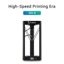 2019 Flsun QQ S Đồng Bằng Kossel 3D Máy In Tốc Độ Cao In Lớn Kích Thước 3d printer Tự Động San Bằng Màn Hình Cảm Ứng Wifi