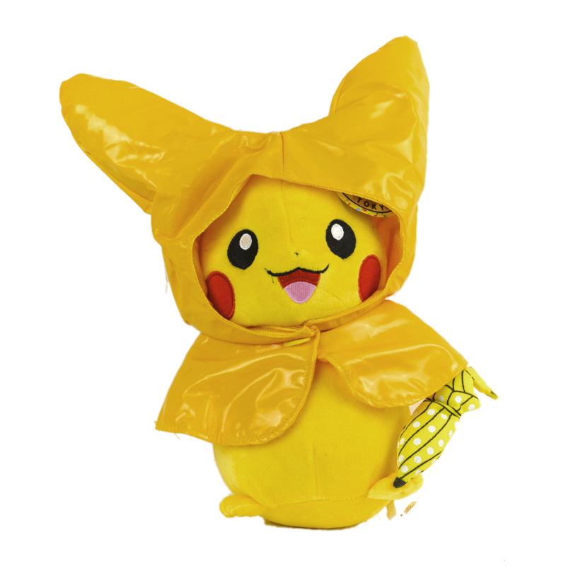 28cm Cute Cartoon Plush Doll Toy Pokemon Go Pikachu Throw Pillow Plush Toy Doll Home Decor Kids Gift