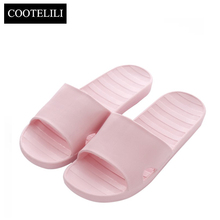 33a8cf44c4aff COOTELILI Women Slides Beach Sandals Summer Home Bath Slippers Woman Casual  Slip on Flats Shoes Blue Red Pink Green Dropshipping