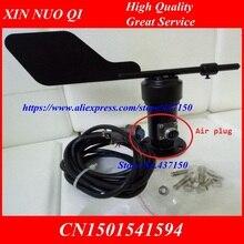 1 Uds X sensor de dirección del viento señal de corriente de voltaje 4 20ma 0 5v rs485 Salida de pulso envío gratis CC201310284020, anemómetro