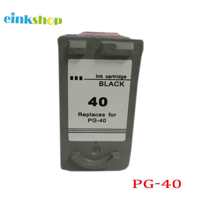 PG40 Ink Cartridge For Canon PG 40 PG 40 For Canon Pixma MP140 MP160 MP180 MP190 MP210 MP220 MP450 MP470 IP1800 IP2500 IP2600 in Ink Cartridges from Computer Office