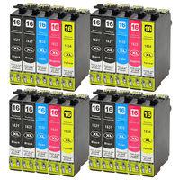 20x T1631 Ink Cartridges Compatible for Epson Workforce WF 2520NF WF 2630WF WF 2750DWF