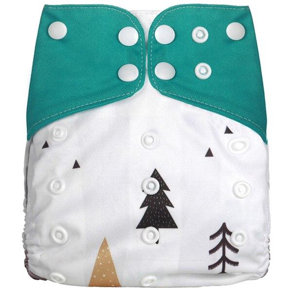 [Simfamily] Новые детские тканевые подгузники, регулируемые подгузники для мальчиков и девочек, Моющиеся Водонепроницаемые Многоразовые подгузники для новорожденных - Цвет: NO6