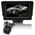 Car Video Parking Sensor 4.3inch DVD Monitor Rear Camera Visual  backup radar car reversing sensors