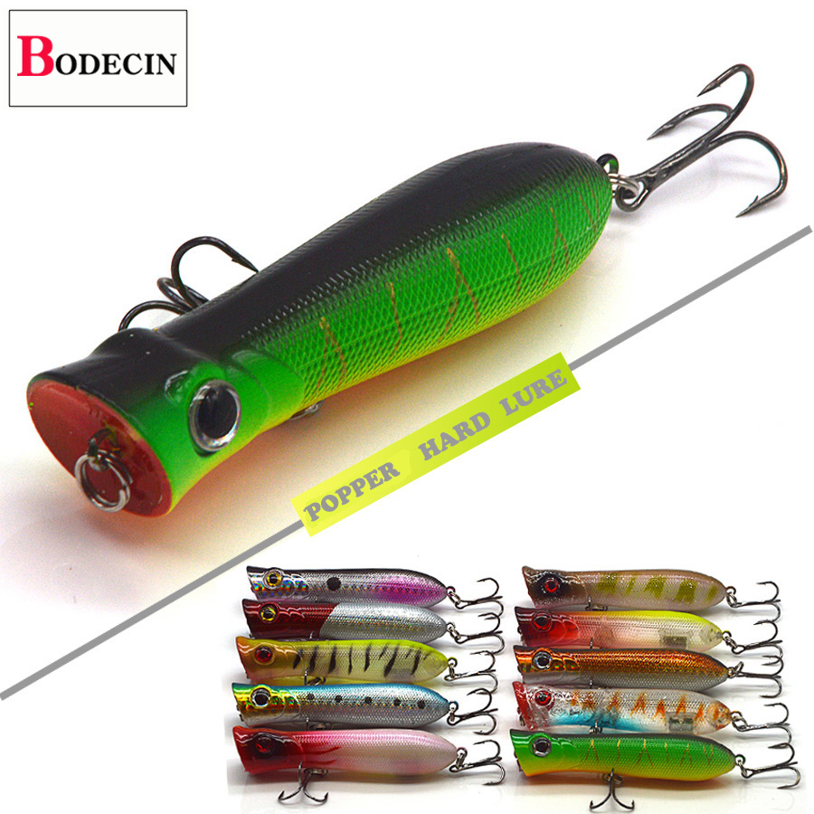 10PCS Carp Plastic Hard Fishing Lure Fake Bait Tackle Peche Crankbaits Minnow For Trolling Saltwater Artificial Lures Topwater