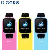 Diggro M01 Touch Kids Smart Watch Phone With 2G SIM Card Camera GPS Tracker Anti Lost