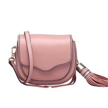 Rm 8917 European and American Crossbody Bag trendy shell Bag Top layer Cowhide Cattle Leather Straddle Shoulder Bag