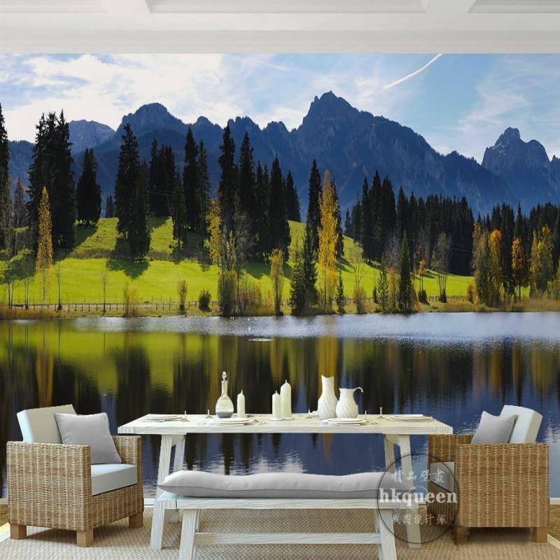 Fantasy Landscape Wallpaper: Custom 3D Photo Wallpaper Fantasy Beautiful Landscape