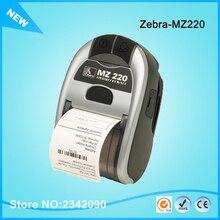 Zebra MZ220 bluetooth-микрофон Термопринтер для 50 мм билета или этикетки портативный принтер 203 точек/дюйм