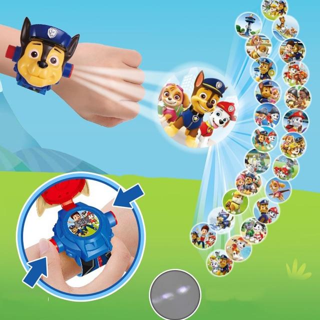 Kids Watch For Boy Girls 3D Projection Wrist Watches Montre Enfant Garcon Children's Electronic Cartoon Boys Relogio Infantil