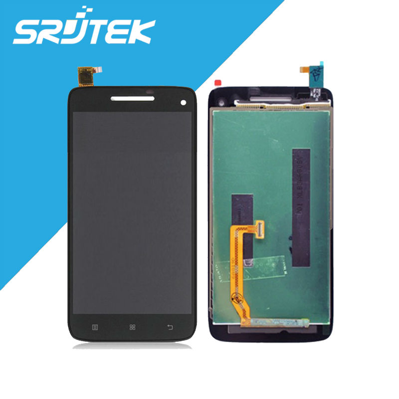 NEW Original Black For 5 Lenovo S960 LCD Display Screen With Touch Digitizer Outer Glass for Lenovo Vibe S960