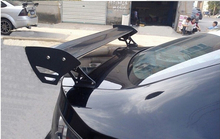 Fit Three-Box Auto Car Rear Spoiler Wings Alloy-Aluminum Racing Styling,NO Drilling Required New china air ship