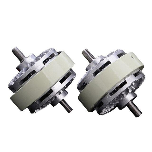 5 kg embrayage à particules magnétiques 50Nm double essieu embrayage à particules magnétiques FL50S embrayage à poudre magnétique