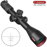 T Eagle SFFLE 4 16x44 Scope Hunting Optical Sights Side Focusing Rifle Scope Sniper Riflescope Gear Out Door Long Range Rifles