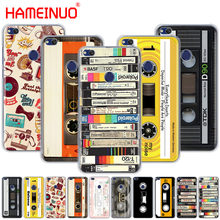 HAMEINUO RETRO CLASSIC CASSETTE Unique Design Cover phone Case for huawei Ascend P7 P8 P9 P10 P20 lite plus pro G9 G8 G7 2017(China)