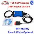 Novo VCI TCS CDP Pro Plus 2014. R3/Versão R2 TCS CDP + Bluetooth Scanner Para Carros & Caminhões & Genérico 3 in1 Mesmo Como MVD WoW Snooper
