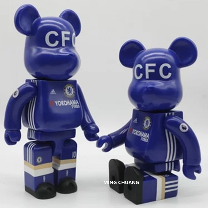 11 Inches Be@rbrick 400% Bearbrick SOCCER Gloomy BB PVC Art Craft Action Figure Collectible Model Toy D217 batman bearbrick action figure 400