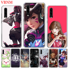 Overwatchs OW D.VA Special Soft TPU Phone Case For Huawei P30 P20 Mate 20 10 Pro P10 lite P Smart + Plus Z 2019 Customized Cover