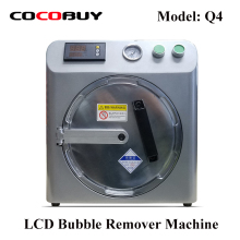 цена на Novecel Q4 OCA Bubble Remover Machine Auto Air Bubble Removing Machine For Samsung and Iphone LCD Refurbishment Silver Grey