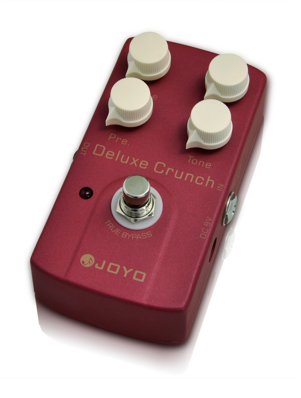 JOYO JF 39 Electric Guitar Pedal Deluxe Crunch Luxury Distorted Almighty Crunch Distortion Classic Crunch Higher