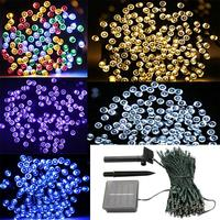 Solar String Lights 22m 200 LED Outdoor Waterproof Fairy Light String For Christmas Home Wedding Party