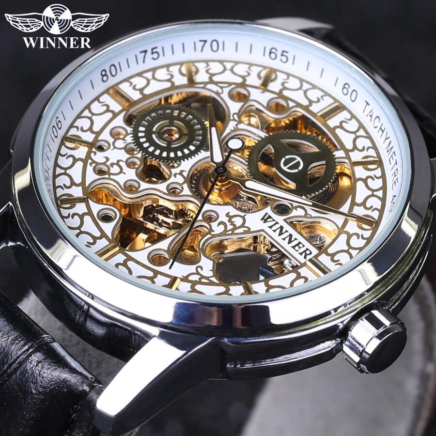 нравится, winner sport luxury hombres de skeleton automatic это