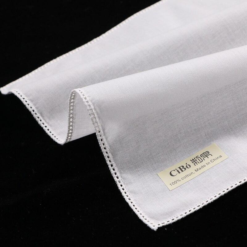 algodão Branco com borda em linha reta