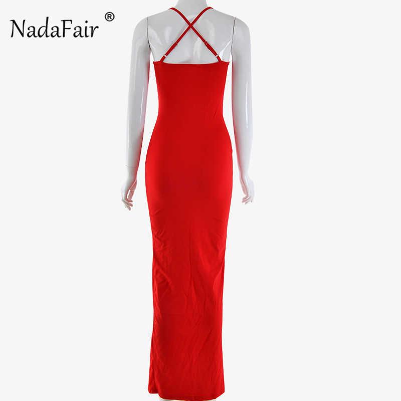 Nadafair, сексуальное Клубное вечернее платье, vestidos, женское облегающее платье миди, летнее платье, красное, черное, белое, с вырезом лодочкой, длинное платье