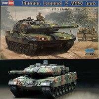 1:35 German Leopard 2A6 Main Battle Tank DIY Plastic Assembling Model Toy
