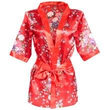 de19c5c76 Cherry Blossom Women Sexy Lingerie Hot Porn Japanese Kimono Costumes Erotic  Lingerie Intimate Clothes Robe Exotic Apparel 5