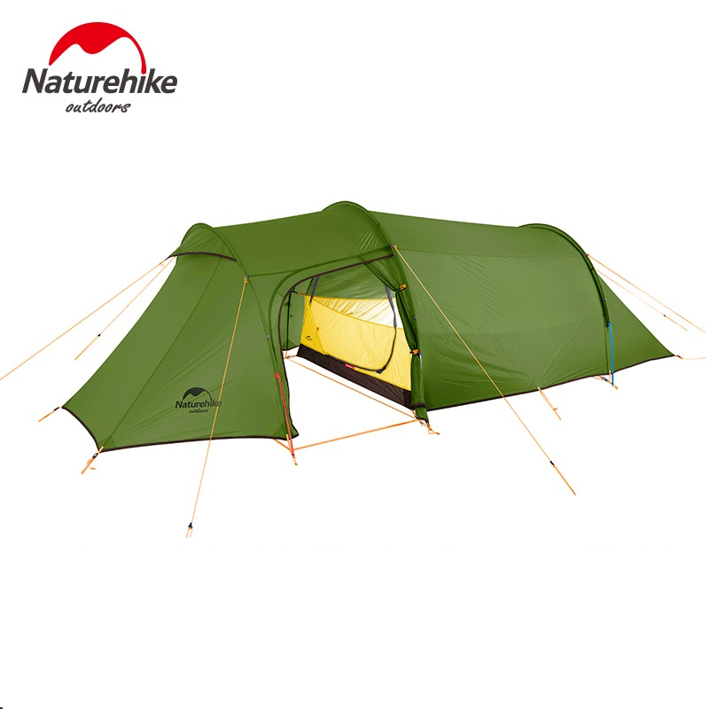 2019 new Naturehike Outdoor 3 Person 4 Person 2 Man Winter Camping Tent Ultralight Tunnel Tent image