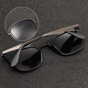 Image 3 - AOFLY Gafas de sol polarizadas Vintage para hombre y mujer, lentes de sol unisex de diseño de marca, adecuadas para conducir, de aleación, AF8120