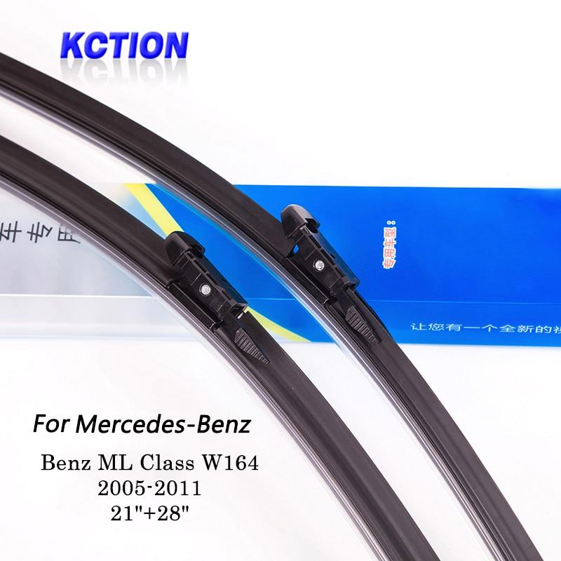 Parabrezza dell'automobile Spazzole Tergicristallo Per Mercedes Benz ML Class W164 (2005-2011), 21