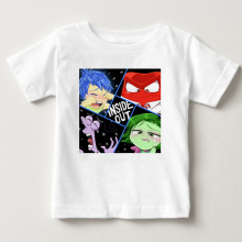 hot sale Summer Children Clothing T Shirt Inside Out Lovely Boy Girl Clothes T-Shirt  Childrens Favourite Cartoon clothing MJ