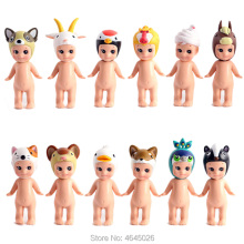 Sonny Angel Baby Animal PVC Action Figures Marine Ocean Life Candy Series Kewpie Model Figurines Collectible Dolls Kids Toys 12pcs lot limited edition sonny angel kewpie doll 7 5cm pvc mini figure cute figurine sonny angel toys for kids