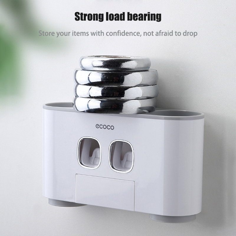 Automatic Toothpaste Dispenser | Toothbrush holder 2