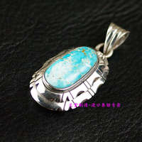 Natural stone 925 sterling silver pendants